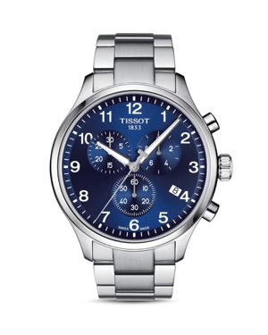 TISSOT Chrono Xl Collection Chronograph Bracelet Watch, 45Mm in Blue