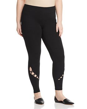 Marc New York Plus - Crossover Cutout Leggings