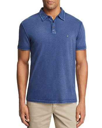 99758fed9 John Varvatos Star USA Peace Sign Burnout Polo Shirt | Bloomingdale's