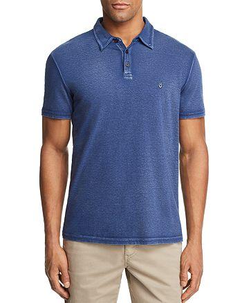 ed492c58 John Varvatos Star USA Peace Sign Burnout Polo Shirt | Bloomingdale's