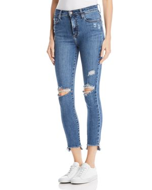 NOBODY CULT ANKLE SKINNY JEANS IN UPRISE