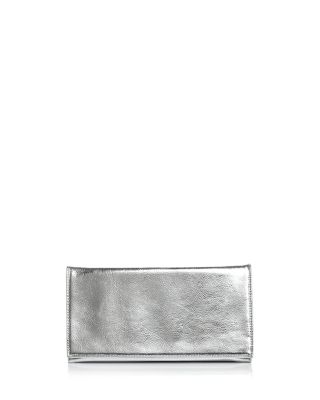 Metallic Foldover Clutch   100% Exclusive by Vince Camuto Petites