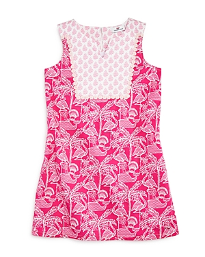 Vineyard Vines Girls FlamingoPrint Shift Dress  Little Kid