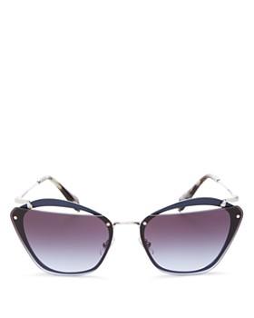 Miu Miu - Women's Square Sunglasses, 65mm