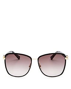 Longchamp - Women's Premiere Family Paris Oversized Square Sunglasses, 61mm