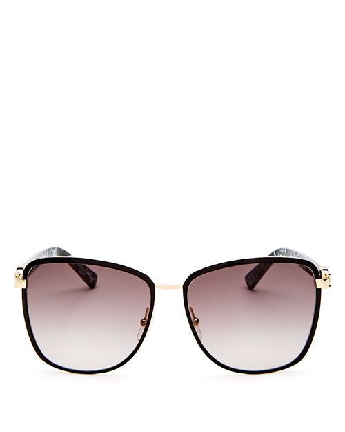 Longchamp - Women's Premiere Family Paris Oversized Square Sunglasses, 61mm