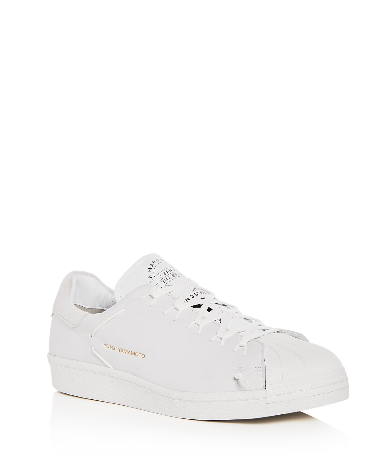 Y-3 Men's Super Knot Nubuck Leather Lace Up Sneakers 0rPrMd