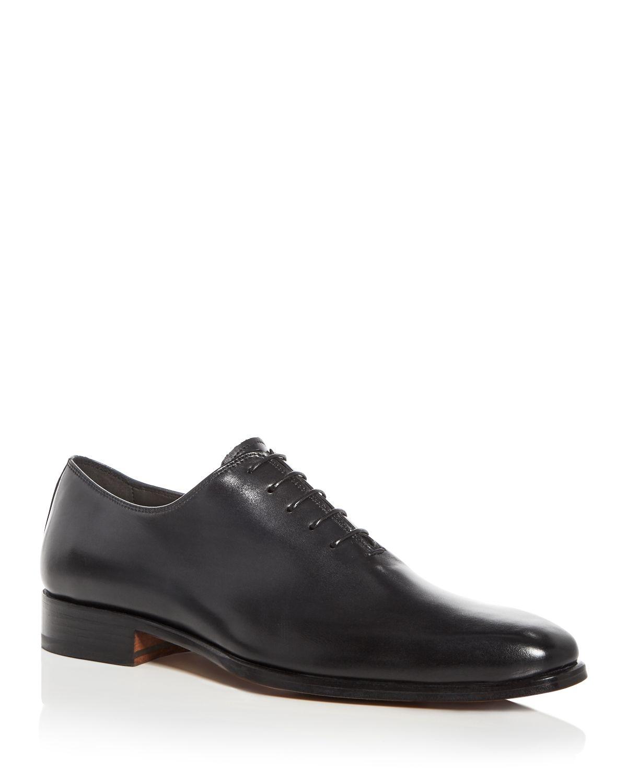 A.TESTONIMen's Leather Plain Toe Oxfords