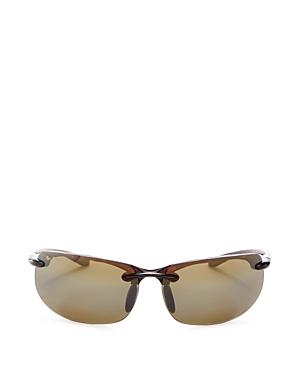 Men's Banyans Polarized Rimless Wraparound Sunglasses