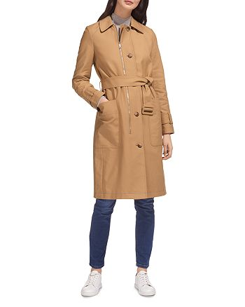 Whistles - Zip-Detail Trench Coat