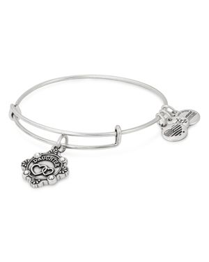 ALEX AND ANI Because I Love You Daughter Bracelet in Silver