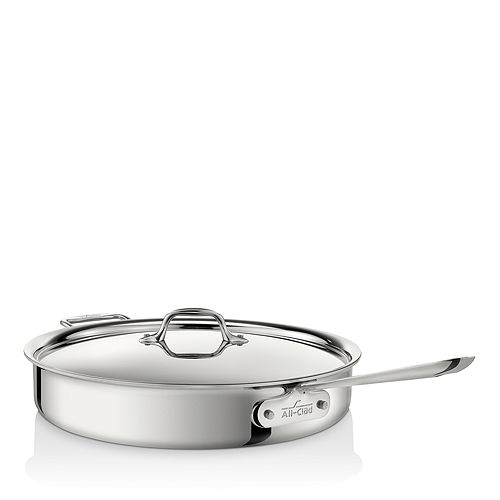 All-Clad - Stainless Steel 6-Quart Sauté Pan