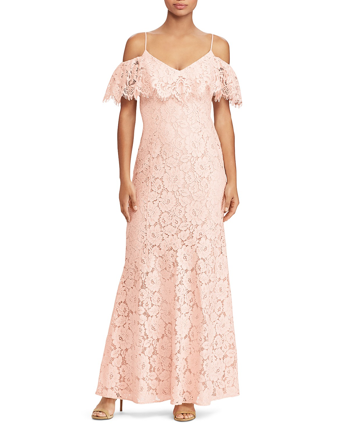 Unique Ralph Lauren Lace Gown Component - Wedding and flowers ...