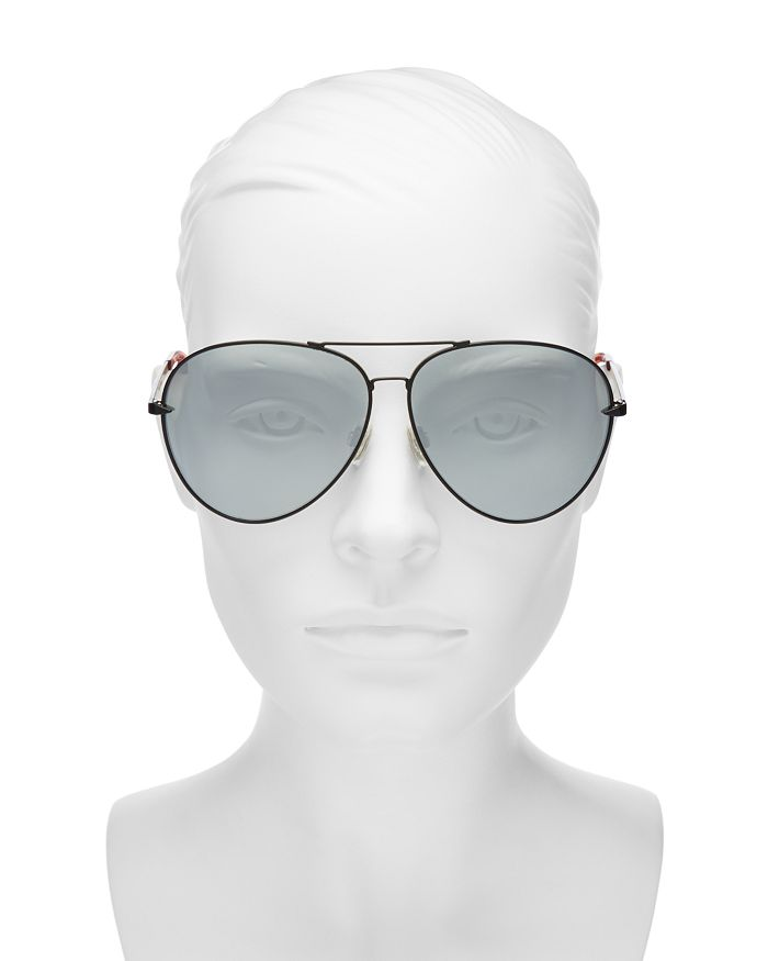 9d578796c4ae7 rag   bone - Women s 1006 Mirrored Aviator Sunglasses