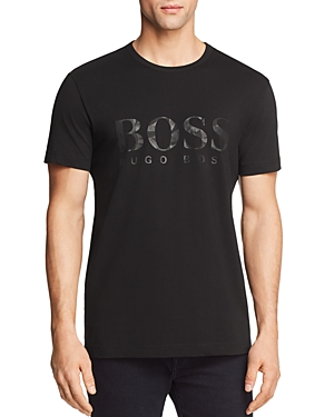 Boss Green Logo Crewneck Tee