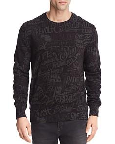 Eleven Paris Resist Allover Crewneck Sweatshirt - Bloomingdale's_0