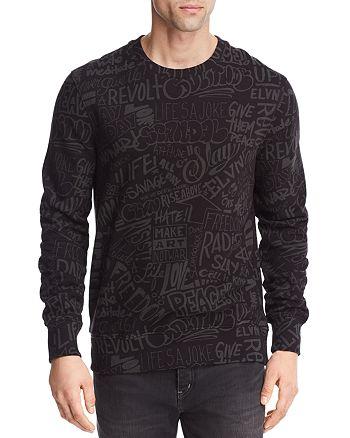 Eleven Paris - Resist Allover Crewneck Sweatshirt