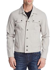 WRK Liberty Faux Suede Jacket - Bloomingdale's_0