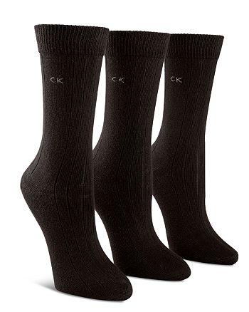 Calvin Klein - Combed Trouser Socks, Set of 3