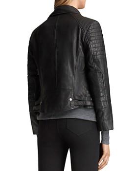 ALLSAINTS - Papin Leather Biker Jacket