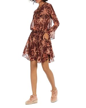Scotch & Soda Palm Print Dress 2887496