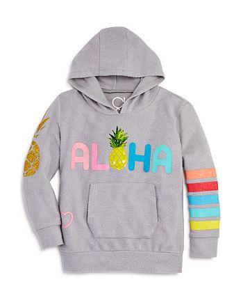 CHASER - Girls' Aloha Pineapple Hoodie - Little Kid, Big Kid