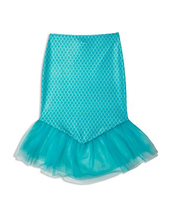 Hula Star - Girls' Mermaid Princess Skirt Cover-Up - Little Kid