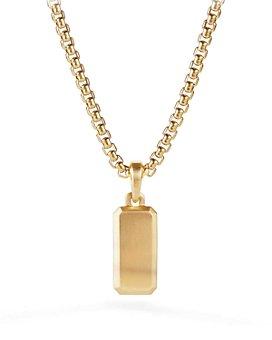 David Yurman - Streamline® Amulet in 18K Gold