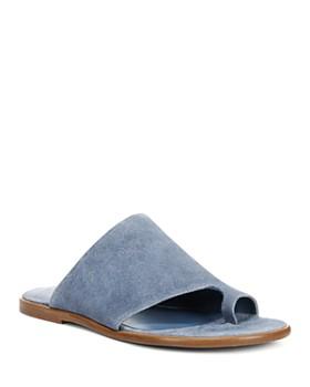 Vince - Women's Edris Suede Slide Sandals