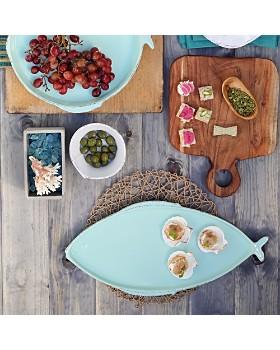 VIETRI - Melamine Lastra Fish Large Oval Platter