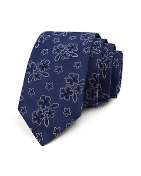 Ted Baker - Floral Hibiscus Classic Tie