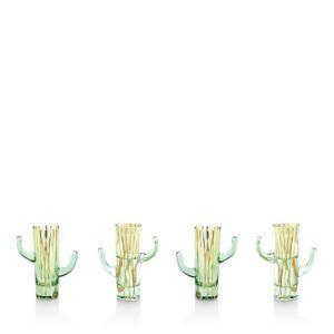 Rosanna Cactus Shot Glass, Set of 4