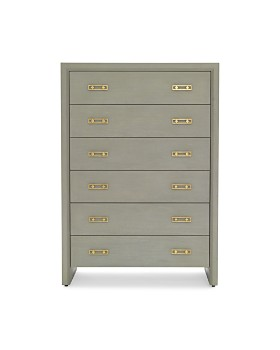 mitchell gold bob williams malibu 6 drawer chest collection - Luxury Bedroom Furniture