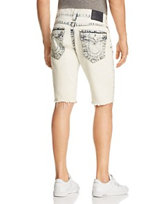 True Religion - Geno Slim Fit Shorts in Worn Cloudfall