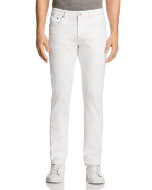 S.M.N STUDIO Hunter Standard Slim Fit Jeans In White