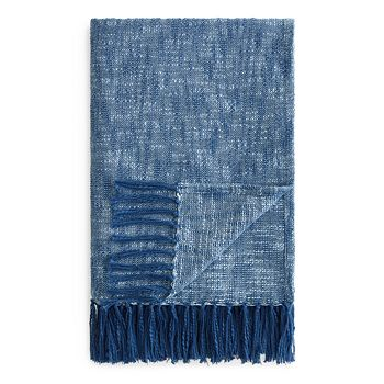 Sparrow & Wren - Textured Chambray Throw - 100% Exclusive