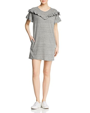 087a6d8a18 PAIGE - Adalie Ruffled Sweatshirt Dress