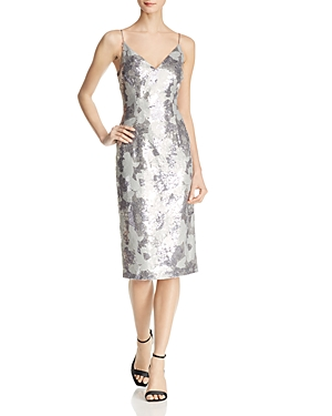Black Halo Amorie Sequined Cocktail Dress