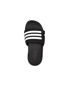 Adidas - Unisex Adilette Cloudfoam Plus Slide Sandals - Toddler, Little Kid, Big Kid