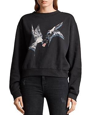Allsaints Tia Lovers Graphic Sweatshirt