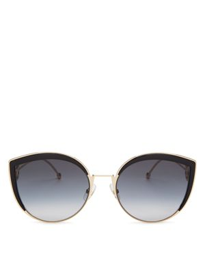Fendi Women's Oversized Rimless Cat Eye Sunglasses, 61mm