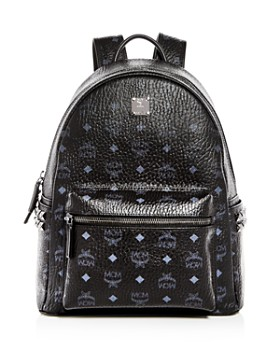 MCM - Visetos Small/Medium Stark Studded Backpack