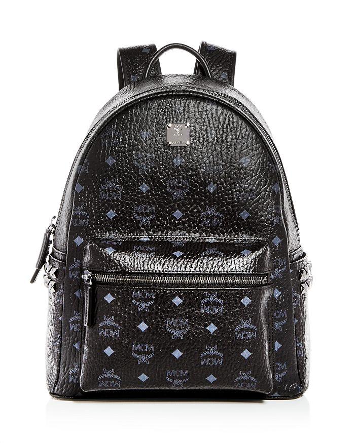 MCM - Stark Visetos Medium Studded Backpack