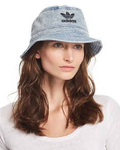 adidas Originals - Unisex Denim Bucket Hat