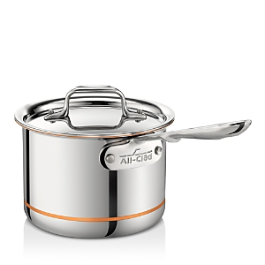 All Clad Copper Core 2 Quart Covered Sauce Pan
