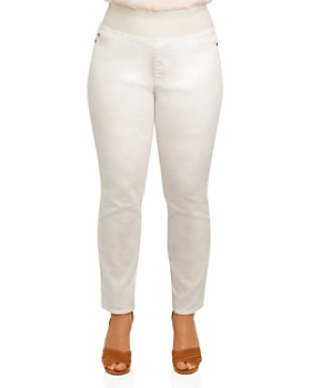 Foxcroft Plus - Nina Slimming Denim Leggings