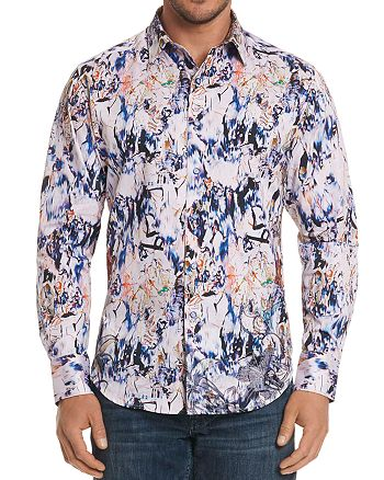 Robert Graham - Jardin Abstract Classic Fit Button-Down Shirt
