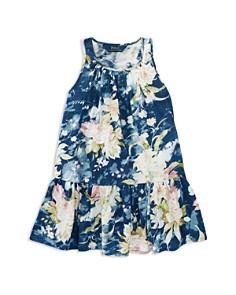 Polo Ralph Lauren Girls' Floral Drop-Waist Dress - Little Kid - Bloomingdale's_0