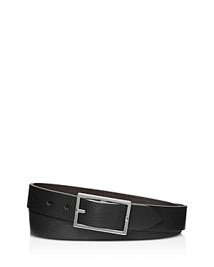 Shinola Men's Reversible Rectangle Buckle Belt