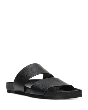 Vince Women's Georgie Leather Pool Slide Sandals 2511736